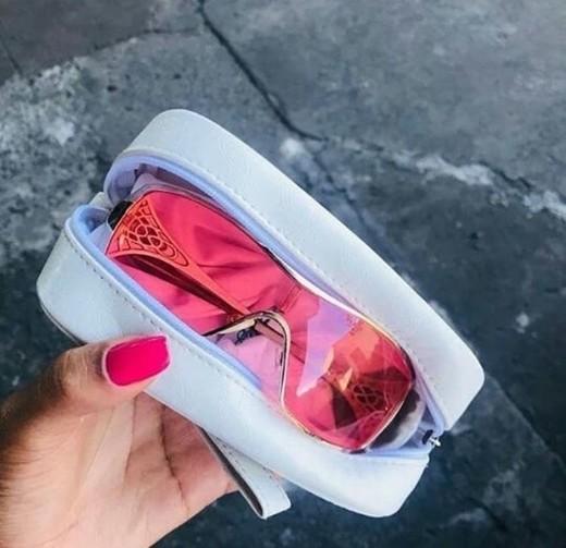 Óculos rosa dark Oakley 😍