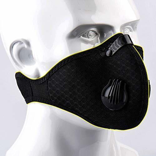 Jinxuny Máscara a Prueba de Polvo Ciclismo Mascarilla Facial
