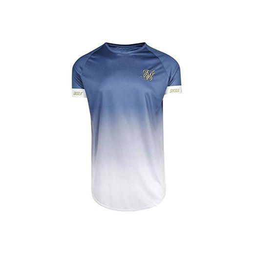Sik Silk Camiseta S/S Fade Tech Azul XL