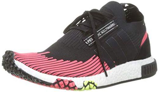 adidas NMD_Racer PK, Zapatillas de Gimnasia para Hombre, Negro