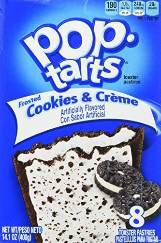 Kelloggs Pop-Tarts Cookies & Creme 8 piece