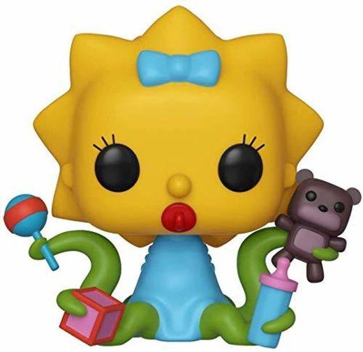 Funko- Pop Figura De Vinil: Animation: Simpsons-Maggie Coleccionable, Multicolor