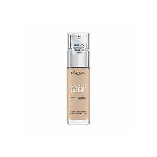 L'Oréal Accord Perfect Paris Maquillaje Fluido, Tono: 2R Vanille Rose