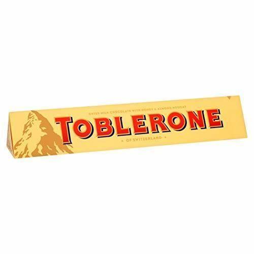 Toblerone Milk Chocolate de Barra Grande