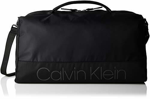 Calvin Klein - Shadow Gym Duffle, Bolso de mano Hombre, Negro