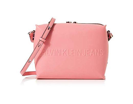 Calvin Klein - Box Camera Bag, Bolsas para portátil Mujer, Rosa