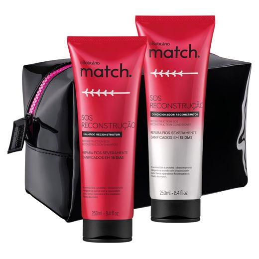 Combo Match SOS Reconstrução: Shampoo