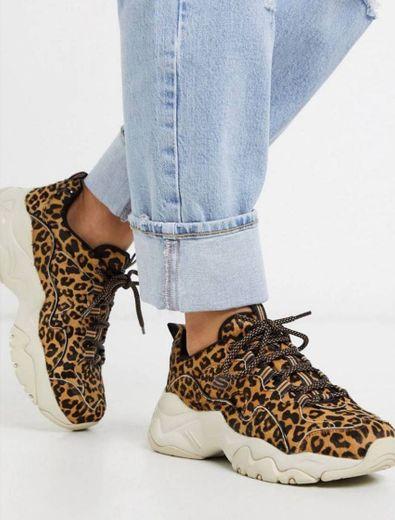 Zapatilla diseño leopardo D'lites 3