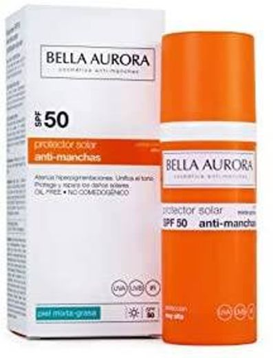 Bella Aurora Gel-Protetor solar anti-manchas para pele mista