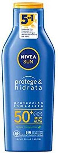 NIVEA SUN protege e hidrata o leite solar FP50 + (1 x 400 ml