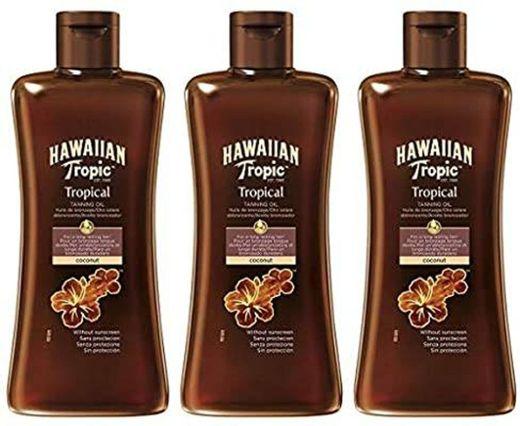 Óleo de Bronzeamento Trópico Havaiano SPF 0 - Óleo de Bronze