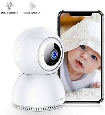 victure 1080P Câmera de vigilância WiFi IP com câmera de det