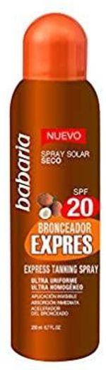 Babaria Solar Bronzer Express Vapo Spf20 200 ml 1 unidade 20