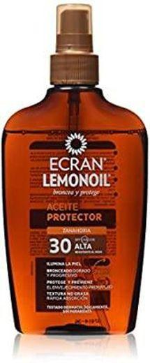 Protetor solar Ecran Sun Lemon Oil em spray de óleo Spf 30-2