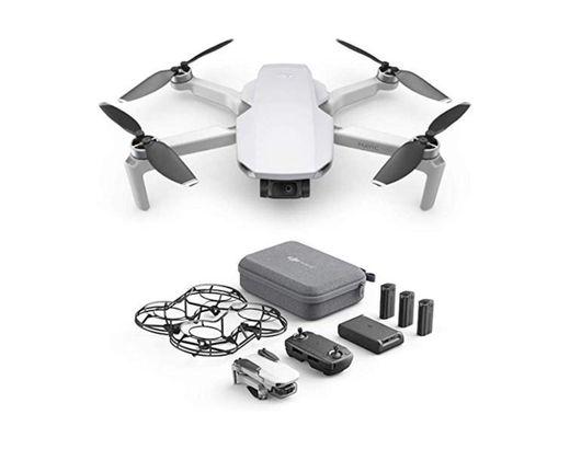 DJI Mavic Mini Combo, Dron Ultraligero y Portátil, Duración Batería 30 Minutos,