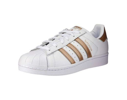 adidas Superstar, Zapatillas para Mujer, Blanco