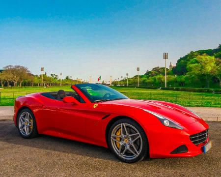 Conduzir um Ferrari em Lisboa
