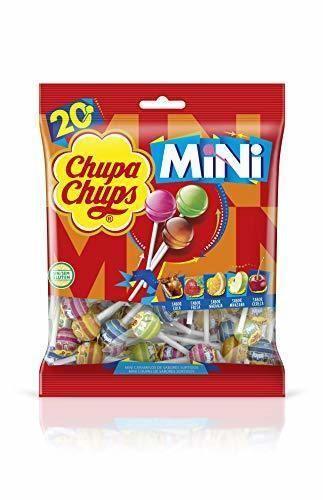 Mini Chupa Chups Caramelo con Palo de Sabores Variados