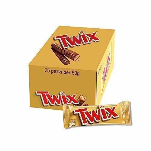 TWIX cerrojo de chocolate 25 X