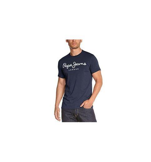 Pepe Jeans Original Stretch PM501594 Camiseta, Azul