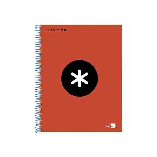 Liderpapel Cuaderno Espiral  A4 Micro Antartik Tapa Forrada 120H 100 Gr
