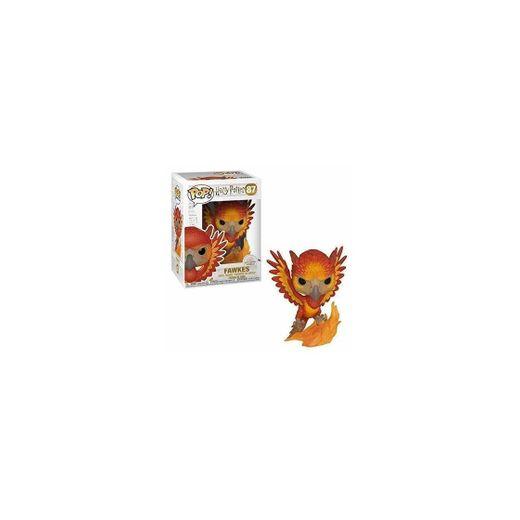 Funko- Pop Figura de Vinilo: Harry Potter S7-Fawkes Coleccionable,