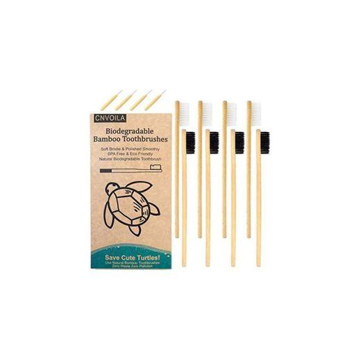 Cepillo de dientes de bambú, Cepillos de dientes ecológicos, Cepillo de dientes