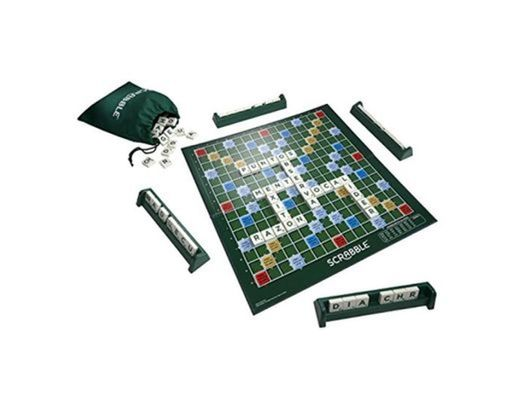 Mattel Games - Juego de mesa Scrabble original castellano
