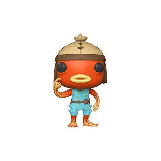 Funko- Pop Games: Fortnite-Fishstick Figure, Multicolor, Talla Única