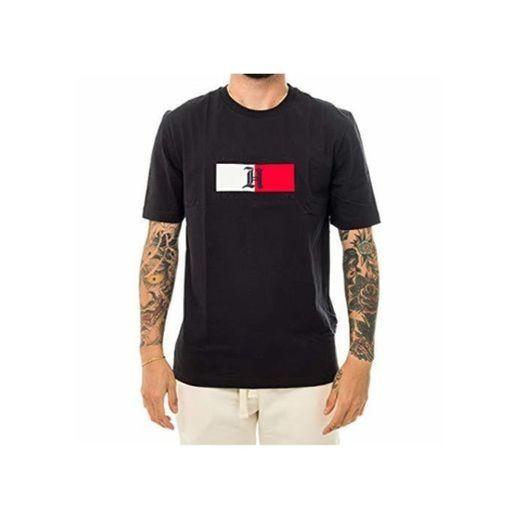 Tommy Hilfiger T-Shirt UOMO Lewis Hamilton Flag Logo tee MW0MW11428.Bas