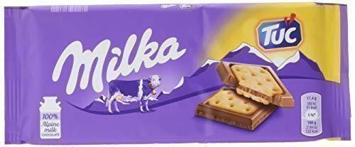 Milka - Tableta De Chocolate Y Galleta Tuc