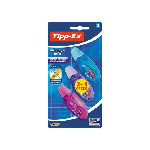 Tipp-Ex Micro Tape Twist Cinta Correctora 8 m x 5 mm -