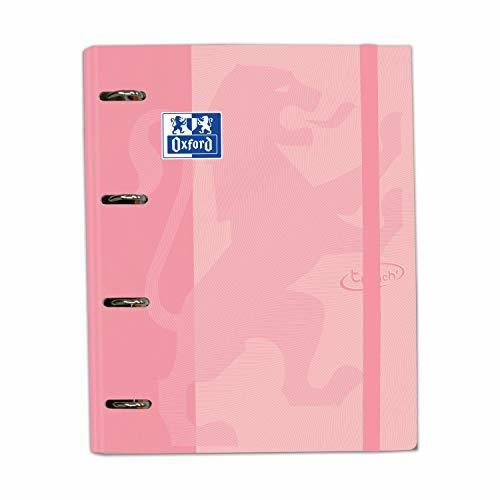 Carpeta con recambio Europeanbinder A4+ Oxford Touch color Flamingo Pastel