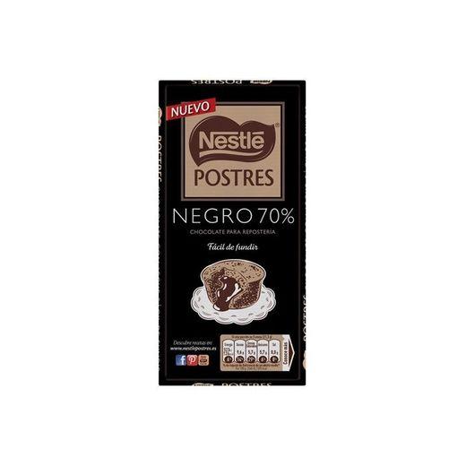 Chocolate negro 70% cacau