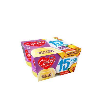 Gelatina de iogurte