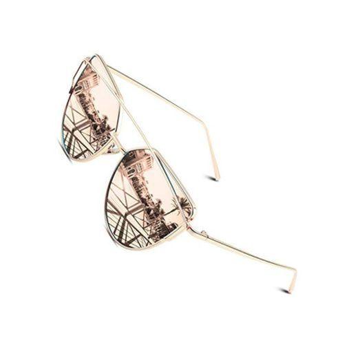 CGID Espejo de moda Polarizadas ojo de gato Gafas de sol para