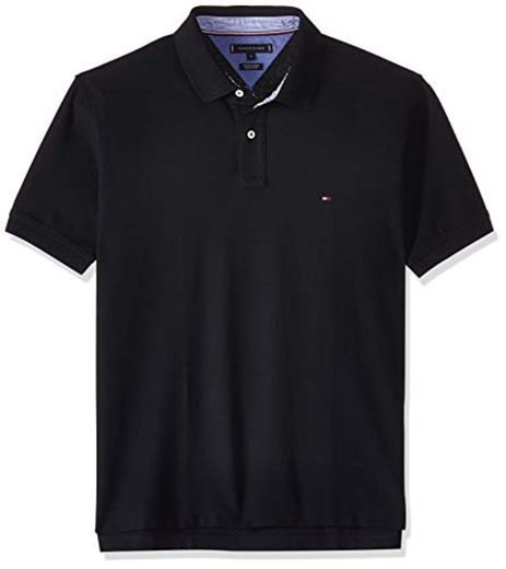 Tommy Hilfiger Core Hilfiger Regular Polo, Negro