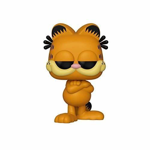 Funko- Pop Figura de Vinilo: Comics Garfield Coleccionable, Multicolor