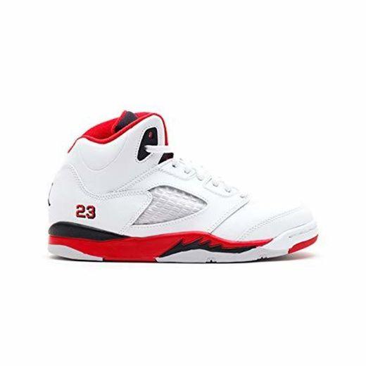 Nike Jordan-Air Jordan 5Retro BG Zapatillas de Baloncesto