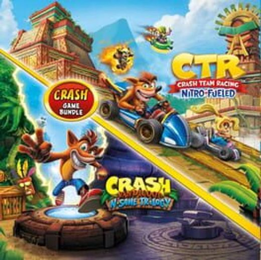 Crash Bandicoot N. Sane Trilogy & Crash Team Racing Nitro-Fueled Double Pack