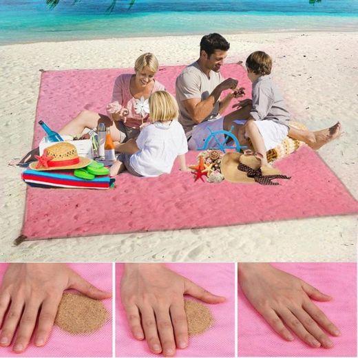 Toalha de Praia Mágica Quicksand Mat - Stock-Off
