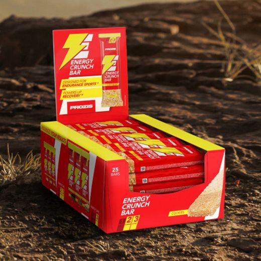25 x Energy Crunch Bar 40 g - Barras e Snacks On The Go   Prozis
