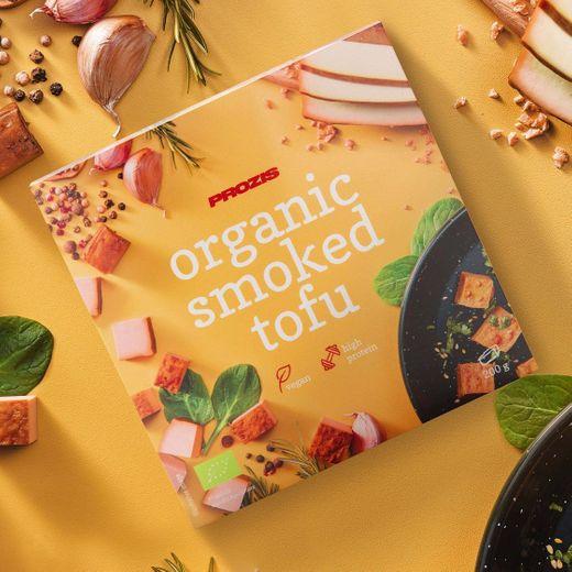 Tofu Fumado Biológico 200 g - Almoço e Jantar   Prozis