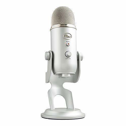 Blue Microphones Yeti - Micrófono USB para grabación y transmisión en PC