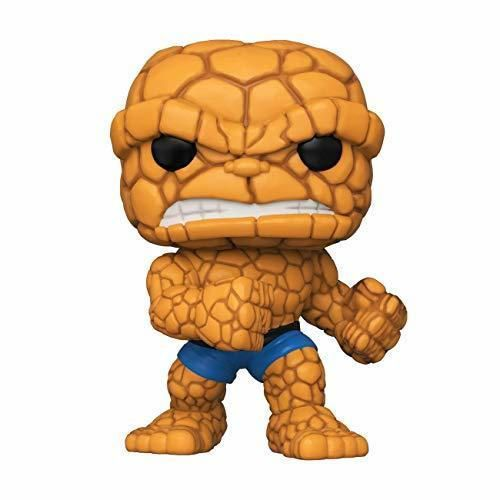 Funko- Pop Marvel: Fantastic Four-The Thing Collectible Toy, Multicolor