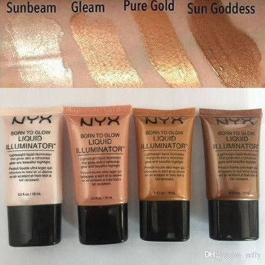 NYX Professional Makeup Iluminador líquido Born to Glow Liquid Illuminator, Maquillaje fluido