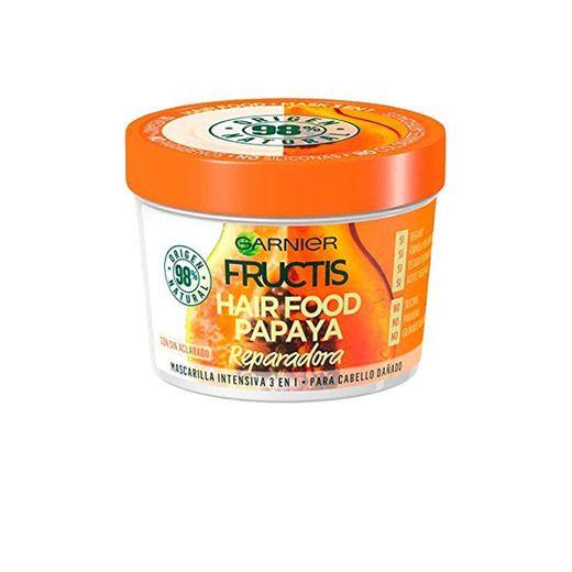 HAIR FOOD papaya mascarilla reparadora 390 ml