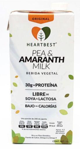 Heartbest Leche de amaranto y chícharo