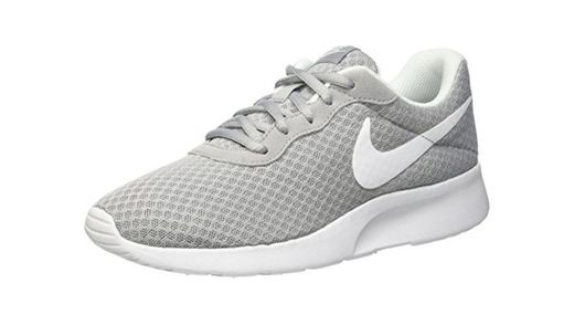 Nike Tanjun, Zapatillas de Running para Mujer, Gris