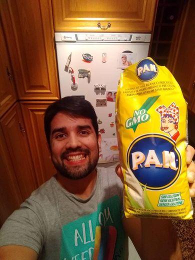 PAN harina 100% maiz blanco paquete 1kg